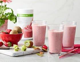 שייק חלבון קיווי – תות