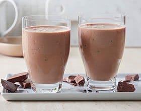 שייק שוקולד צ'יפס ועוגיות