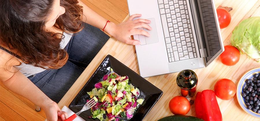 רביםסבוריםשיש מקוםלשיפור כאשר הם נשאלים על איכות התזונהשלהם