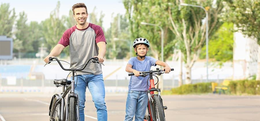 רכיבה על אופניים היא פעילות גופנית נהדרת